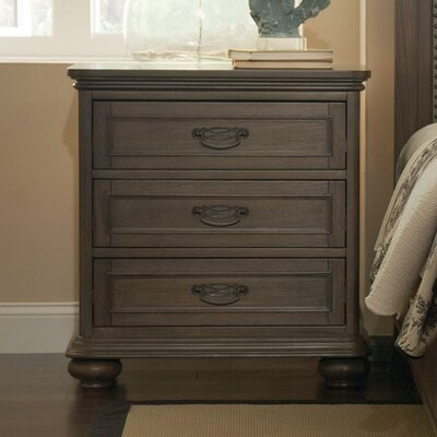 Rosalind Wheeler Beckles 3 Drawer Bachelor&#..