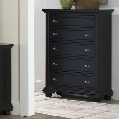 Bay Isle Home Alpinia 5 Drawer Chest