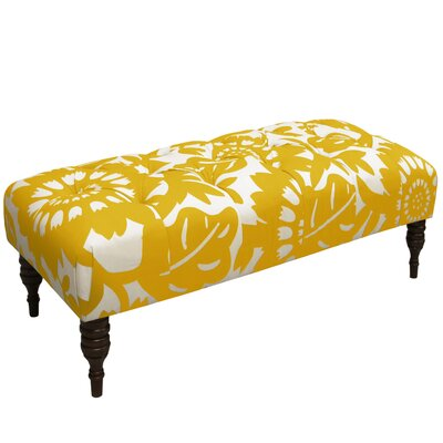 Bay Isle Home Baja Tufted Upholstered Bench
