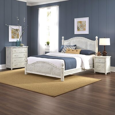 Bay Isle Home Oliver Panel 3 Piece Bedroom Set