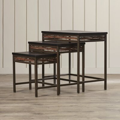 Bay Isle Home Firebird 3 Piece Nesting Tables