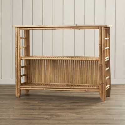 Bay Isle Home Porter Console Table with Shelf