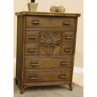 Bay Isle Home Cypress 5 Drawer Chest