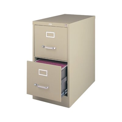 Symple Stuff 2 Drawer Commercial Letter Size File Cabinet