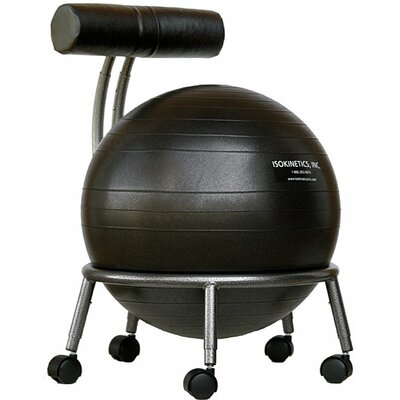 Symple Stuff Mid-Back Exercise Ball Chair