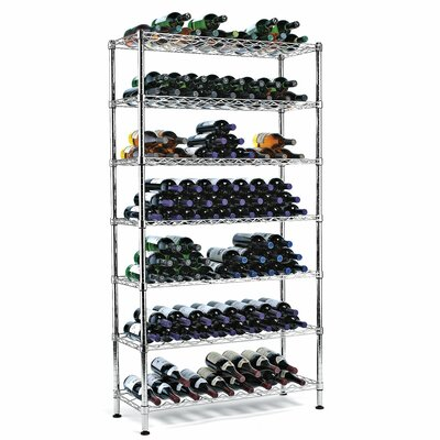 Symple Stuff 126 Bottle Floor Wine Rack