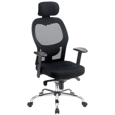 Symple Stuff High-Back Mesh Office Chair with Arms