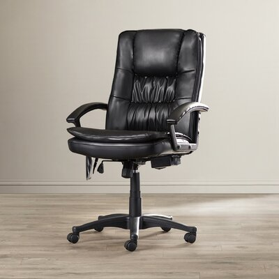 Symple Stuff High Back Leather Massage Executive Chair