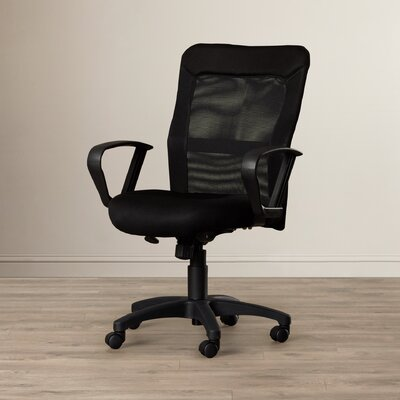 Office Star Products High Back Mesh Office Chair with Loop Arms