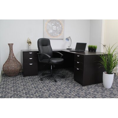 Boss Office Products Contemporary Mid-Bac..