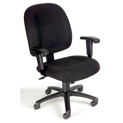 Symple Stuff Mid-Back Task Chair with Til..