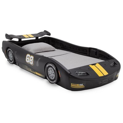 Zoomie Kids Zakary Turbo Race Car Twin Standard Bed