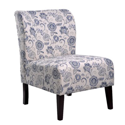 Nathaniel Home Khloe Floral Slipper chair