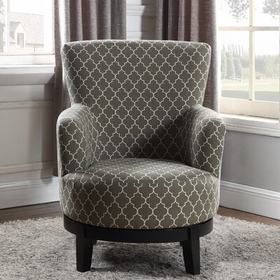 Nathaniel Home London Swivel Arm Chair