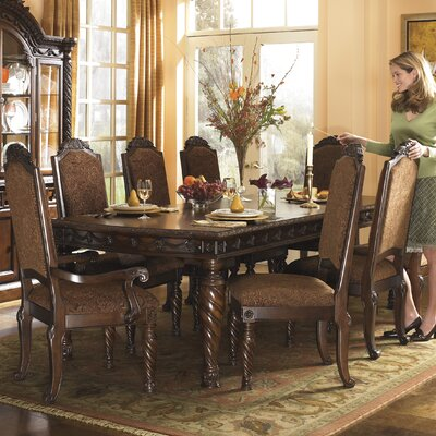 Astoria Grand Castlethorpe Extendable Dining Table