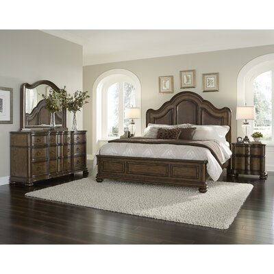 Astoria Grand Quellenhof Panel Customizable Bed..