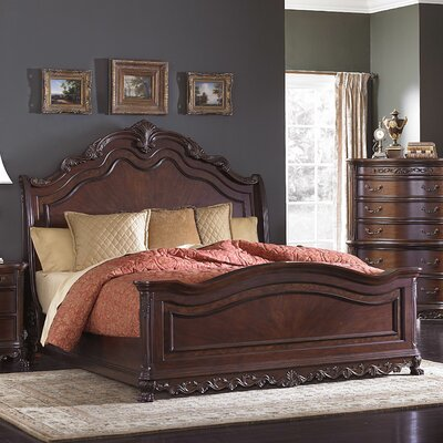 Astoria Grand Chalus Panel Bed