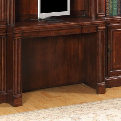Astoria Grand Wakefield 10 Piece Desk and Bookcase Wall