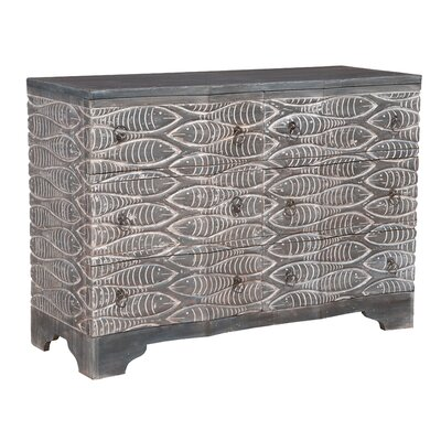 World Menagerie Shimizu 6 Drawer Double Dresser