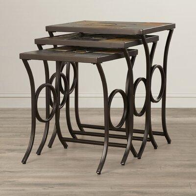 World Menagerie Zamudio 3 Piece Nesting Tables