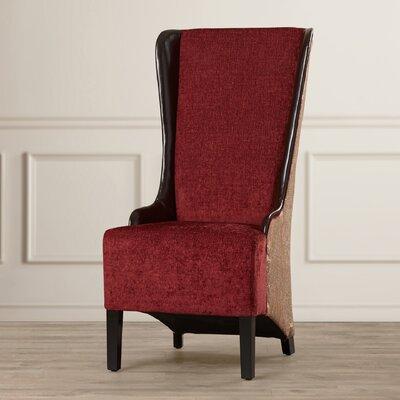World Menagerie Riyad High Back Fabric Arm Chair