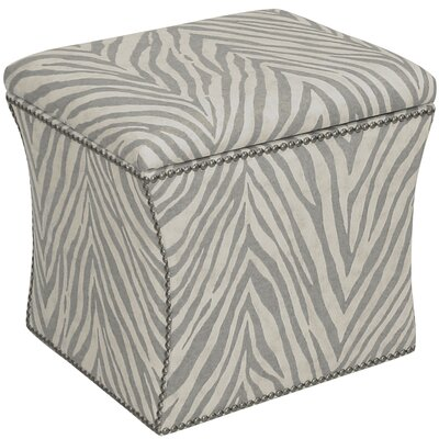 World Menagerie Almont Nail Button Storage Ottoman