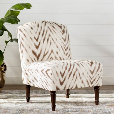 World Menagerie Situ Animal Print Slipper Chair
