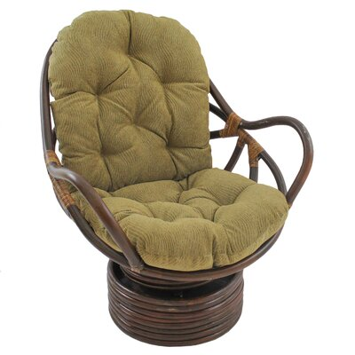 World Menagerie Gilles Rocker Chair with Cushion