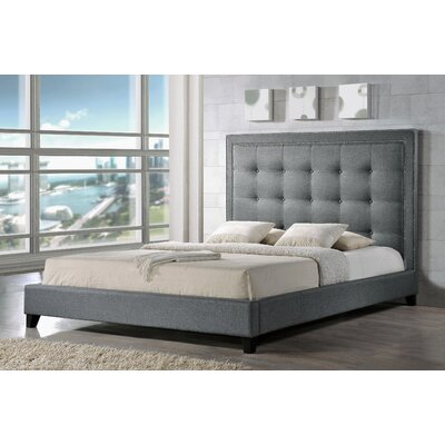 Mercer41 Mankiewicz Upholstered Platform Bed