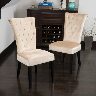 Mercer41 Deville Parsons Chair (Set of 2)
