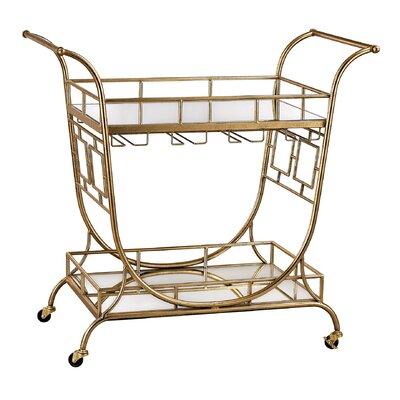 Mercer41 Arlo Bar Serving Cart