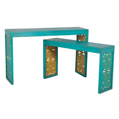 Mercer41 Ampthill 2 Piece Console Table Set