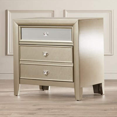 Mercer41 McKellen 2 Drawer Nightstand