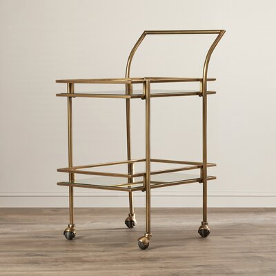 Mercer41 Fuller Heights Serving Cart