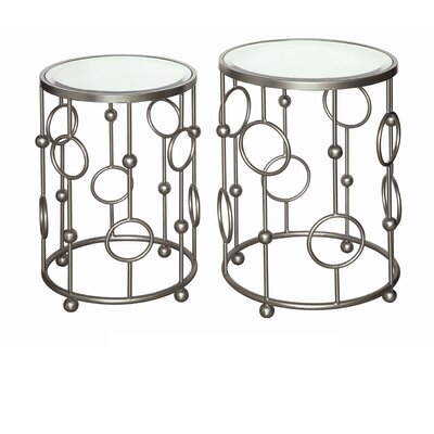Mercer41 Barr 2 Piece Nesting Tables
