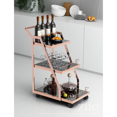 Mercer41 Sylvan Serving Cart