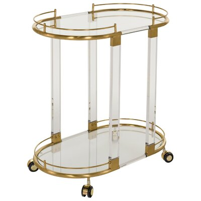Mercer41 Dilys Serving Cart