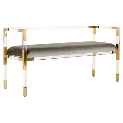 Mercer41 Elizabeth Upholstered Entryway Bench