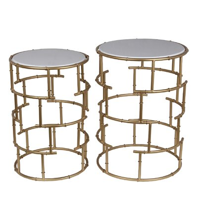 Mercer41 Canavest 2 Piece Nesting Tables