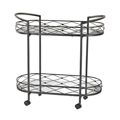 Mercer41 Ashington Bar Serving Cart