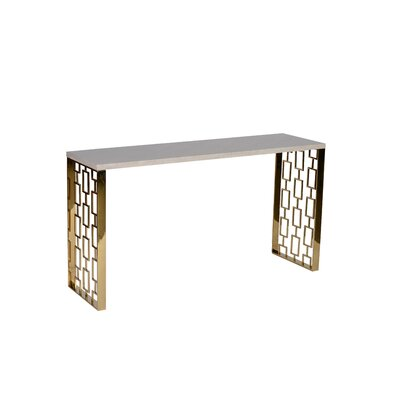 Mercer41 Wick Console Table