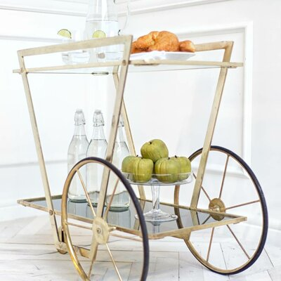 Mercer41 Viesville Serving Cart
