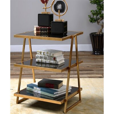 Mercer41 Zwick Glass End Table Image