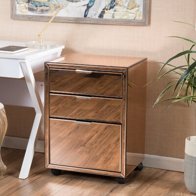 Mercer41 Valmont 3-Drawer Vertical File