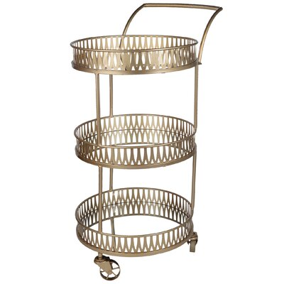 Mercer41 Rocha Serving Cart