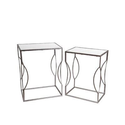 Mercer41 Congleton 2 Piece End Table Set