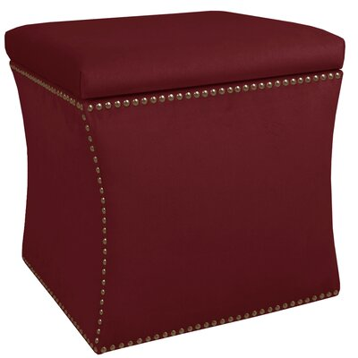 Mercer41 Maghull Nail Button Storage Ottoman