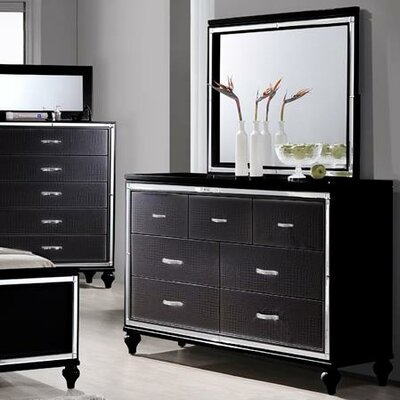 Mercer41 Tenterden 7 Drawer Dresser with Mirror