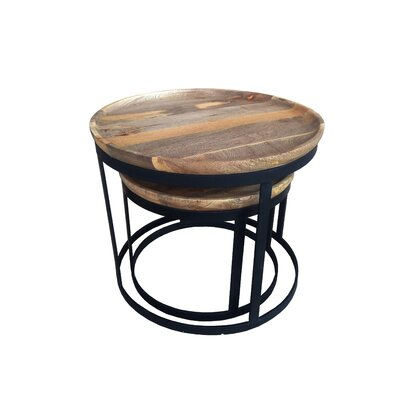 Gild Kota Rosera 2 Piece Nesting Tables