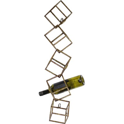 Gild Jarrell 5 Bottle Wall Mounted Wine Rack
